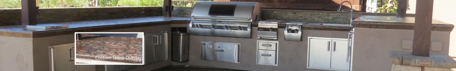 V Rivera Concrete patios barbeque pits and concrete